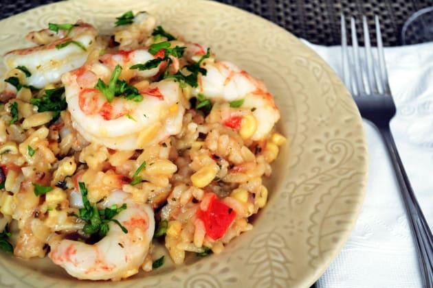 Shrimp Orzo Risotto Pic