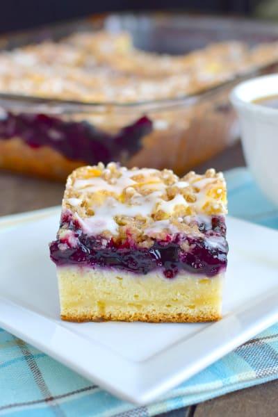 Blueberry Cream Coffee Cake Image