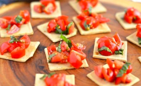 Gluten Free Tomato Bruschetta Recipe