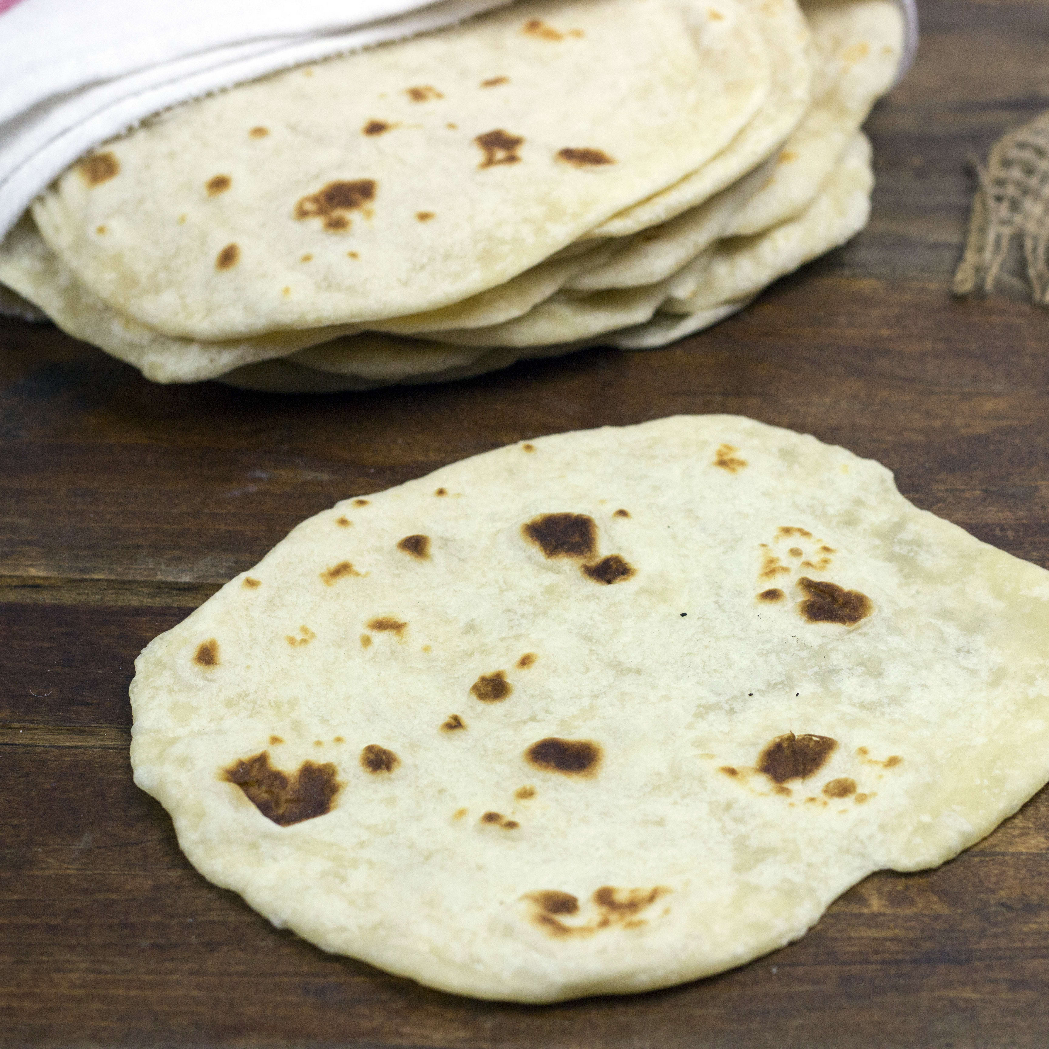 Homemade Tortillas Recipe Food Fanatic