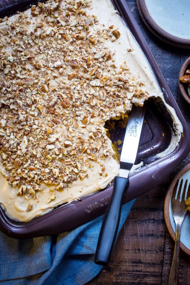 Bourbon Chai Pumpkin Snack Cake Picture