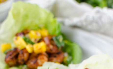 Paleo Blackened Shrimp Lettuce Wraps Picture