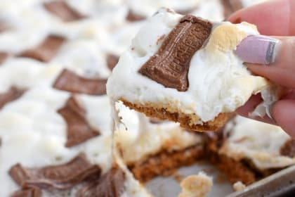 S'mores Cracker Toffee