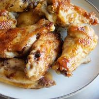 Garlic Ginger Chicken Wings Recipe