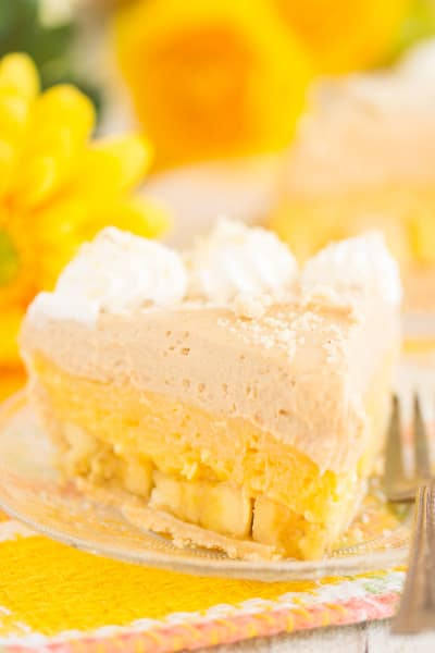 Banana Pudding Peanut Butter Pie Image