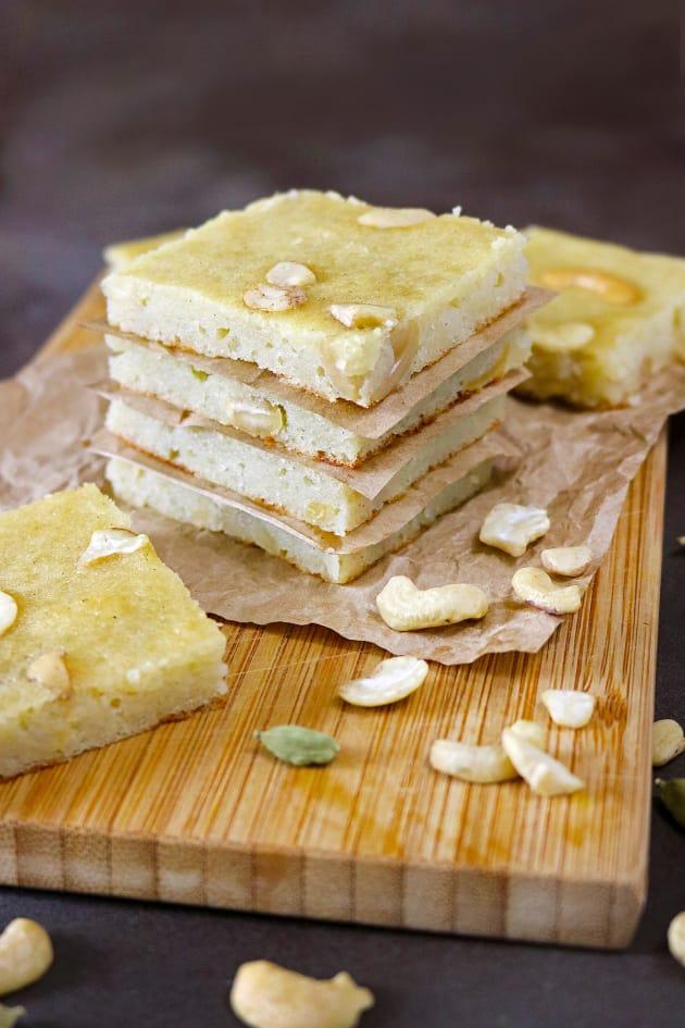 Cashew Potato Bars Picture