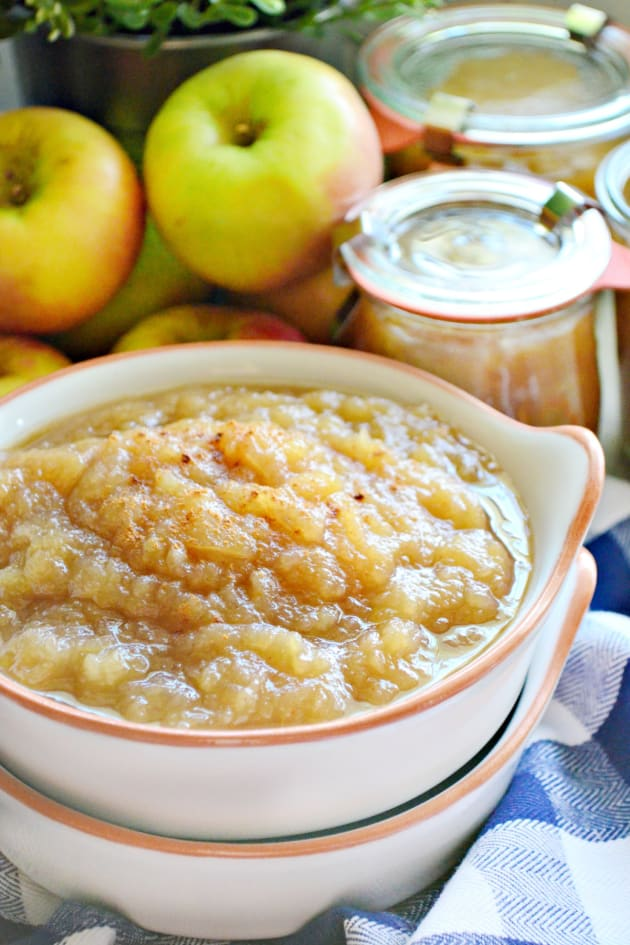 Instant Pot Applesauce Picture