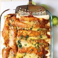 Southwestern Chicken Enchiladas