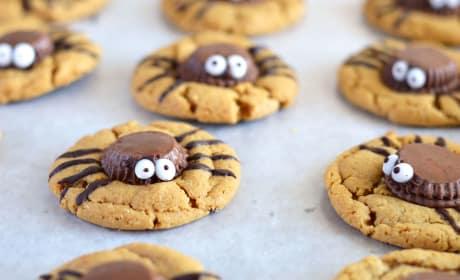 Spider Cookies Image