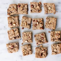 Vegan Hazelnut Blondies Recipe