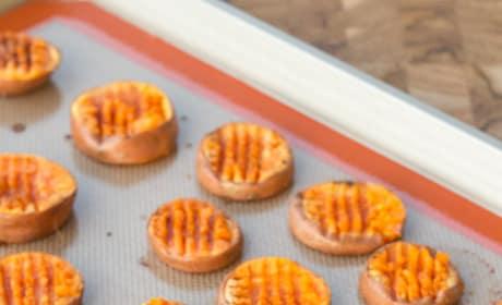 Smashed Sweet Potatoes Image