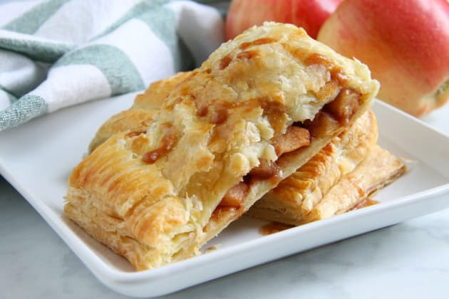 Puff Pastry Apple Slab Pie Photo