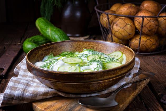 German Cucumber Salad Image