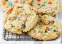 Fruity Pebble Marshmallow Cookies Recipe