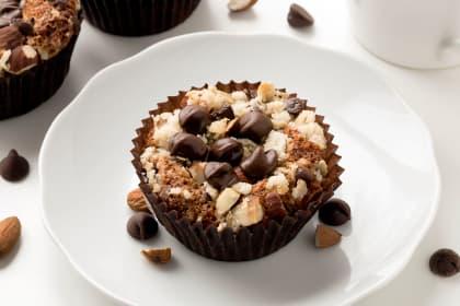 Gluten Free Chocolate Almond Muffins