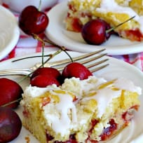 Cherry Breakfast Cobbler