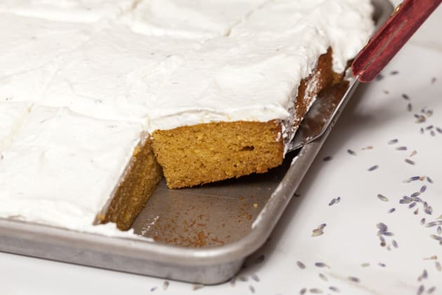 Pumpkin Sheet Cake Image