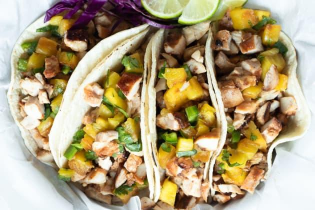 Hawaiian Chicken Tacos Photo