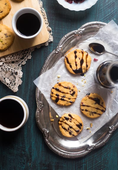 Vegan Shortbread Cookies Picture