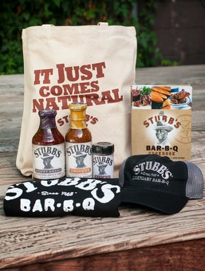 Stubb's Giveaway Package