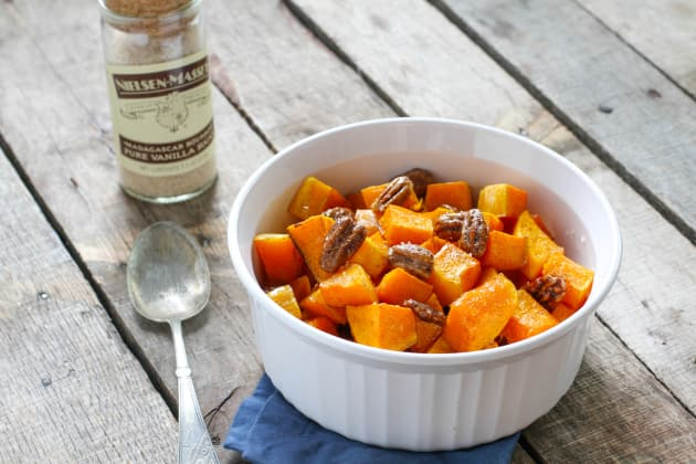 Vanilla Roasted Butternut Squash and Pecans Photo