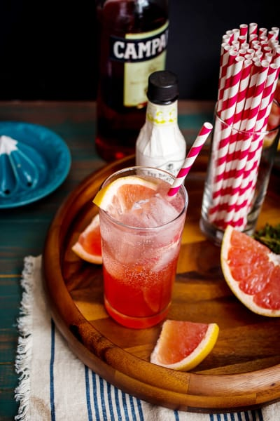 Blushing Grapefruit Collins Image