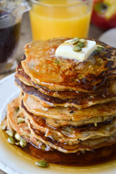 Morning Glory Pancakes Pic