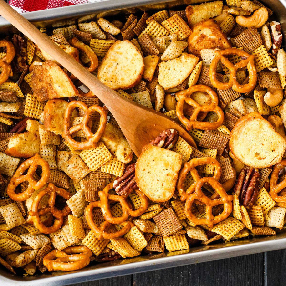 Toaster Oven Chex Mix Recipe Food Fanatic