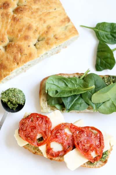 Roasted Tomato Mozzarella Panini Picture