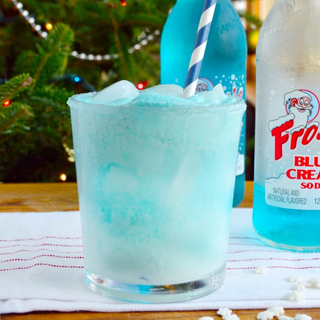 Abominable Snowman Cocktail Pic