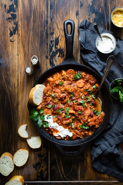 Instant Pot Cajun Chili Picture