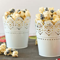 Blueberries & Cream Popcorn Recipe