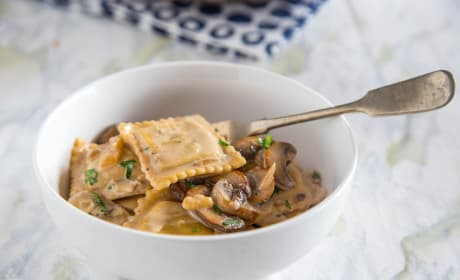 Skillet Beef Stroganoff Recipe