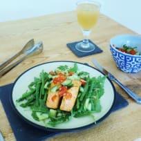 Simple Salmon Salsa