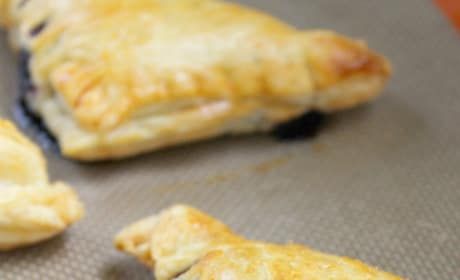 Blueberry Almond Turnovers Picture