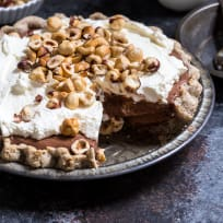 Boozy Chocolate Hazelnut Cream Pie Recipe