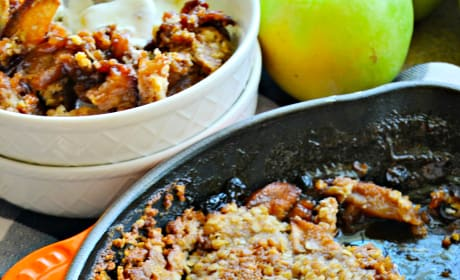 Skillet Apple Crisp Pic
