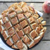 Brie, Pear & Walnut Pull Apart Bread Recipe