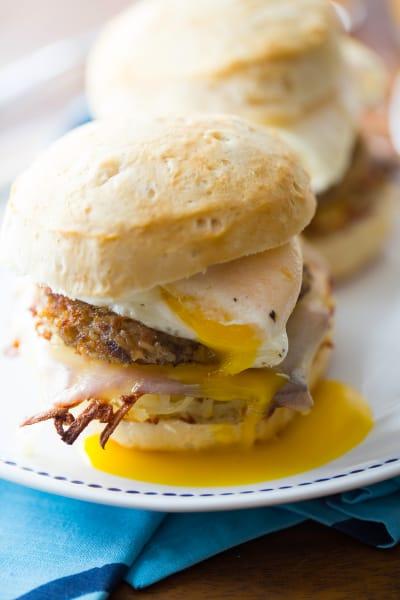 Goetta Breakfast Sandwich Picture