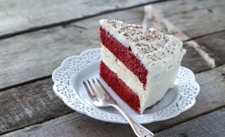 Cheesecake Factory Red Velvet Cheesecake Picture
