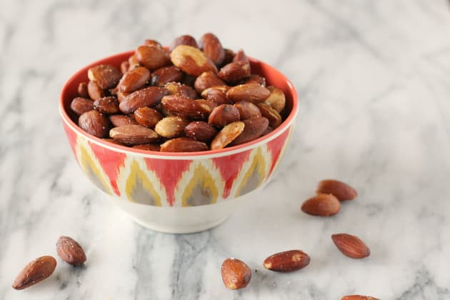Olive Oil Roasted Almonds Photo