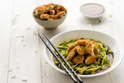 Honey Garlic Chicken with Coconut