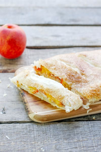 Peaches & Cream Bread Picture