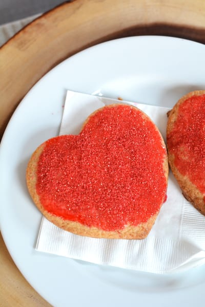 Homemade Panera Bread Valentine Cookies Picture