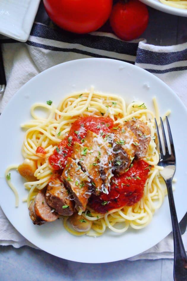 Instant Pot Italian Sausage Pic