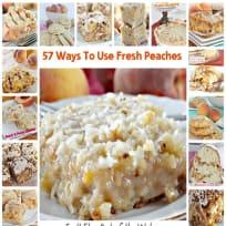 57 Ways to Use Fresh Peaches