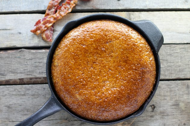 Maple Bacon Skillet Cornbread Photo