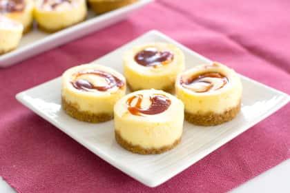 Mini Guava Cheesecakes
