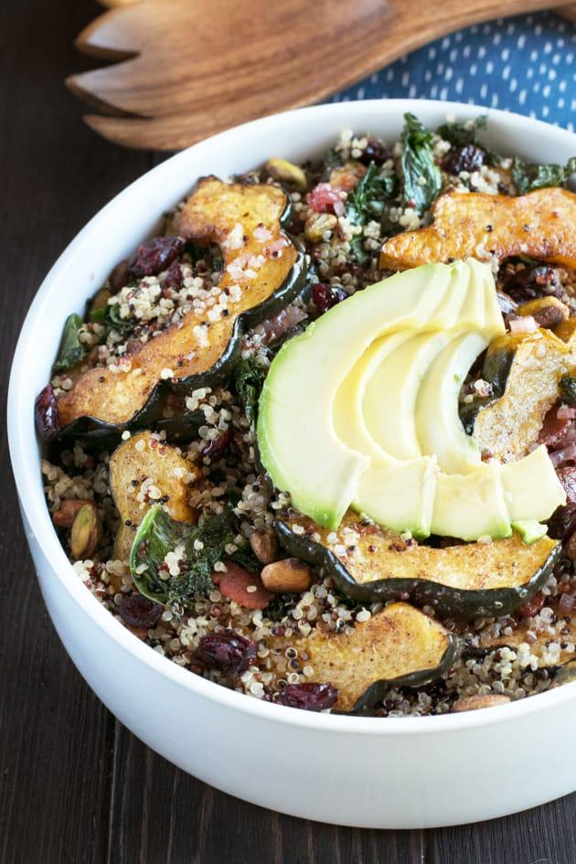 Harvest Acorn Squash Quinoa Salad Image