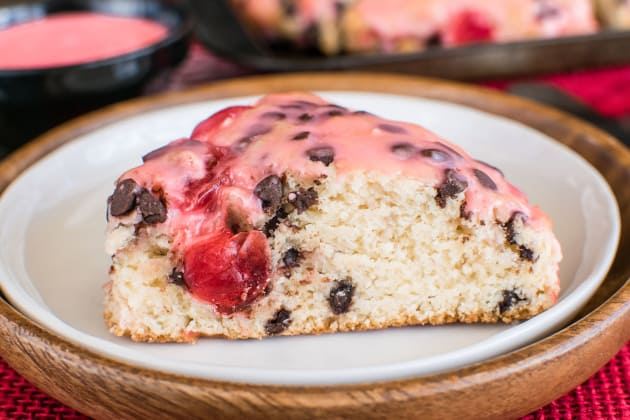Cherry Chocolate Chip Scones Photo